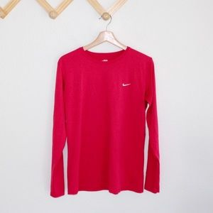 4/$25 Nike | fit dry long sleeve shirt